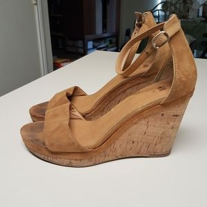 H&M wedge sandals Size 8 1/2